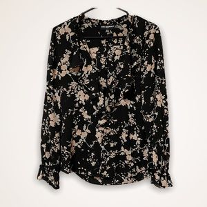 KARL LAGERFELD ✨ NEW floral blouse